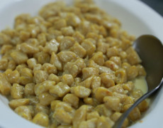 Gnocchetti di zucca con crema di noci